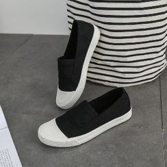 Solejoy - Couple Matching Canvas Slip-Ons