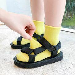 Pinty - 小童純色襪子
