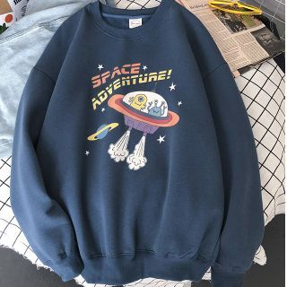 CooLook - Cartoon Print Pullover
