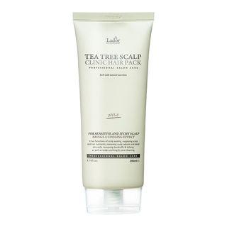 Lador - Pack Clinic Hair para el cuero cuero cabelludo con árbol del té
