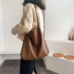 BAGUS - Faux Leather Tote Bag