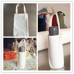 Cloud Forest - 纯色帆布水瓶袋