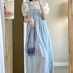 SUGARUS - 短袖襯衫 / 無袖連衣裙