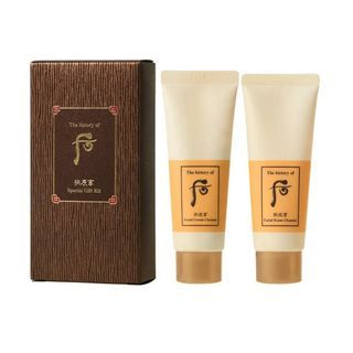 The History of Whoo 后 - Gongjinhyang Cleanser Special Gift Kit
