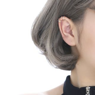 Doll Parlour - Layered Alloy Cuff Earring