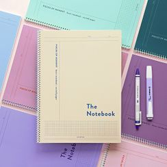 iswas - 'Iconic'' Series B5 Colored Spring Notebook