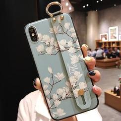 Pixel Dream - Floral Print Phone Case - iPhone 6 / 6s / 6 Plus / 6s Plus / 7 / 7 Plus / 8 / 8 Plus / X / XS / XS Max / XR / 11 / 11 Pro / 11 Pro Max