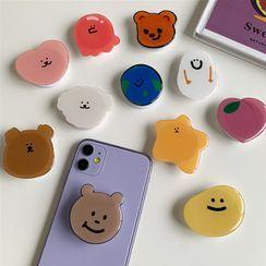 OUROBA - Cartoon Phone Ring Holder