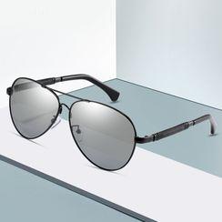 Aisyi - Aviator Round Sunglasses