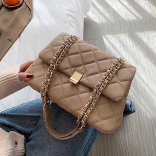Szeta(スゼタ) - Quilted Flap Crossbody Bag