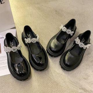 Bolitin - 厚底玛莉珍鞋