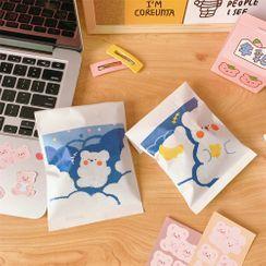 Eteum - 熊印花紙袋