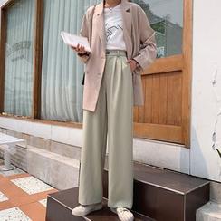 Bon Vivant - 高腰寬腿褲