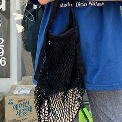 FROMBEGINNING - Net Knit Shopper Bag
