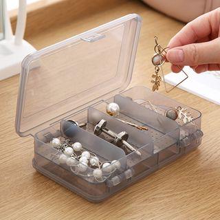 Popcorn - Transparent Plastic Accessory Storage Box