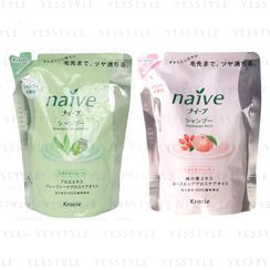 Kracie - Naive Shampoo Refill 400ml - 2 Types