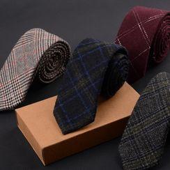 Some Boy - 格子羊毛领带