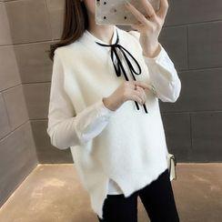 Ageha - V-Neck Knit Vest