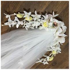 Neostar - Flower Wedding Veil