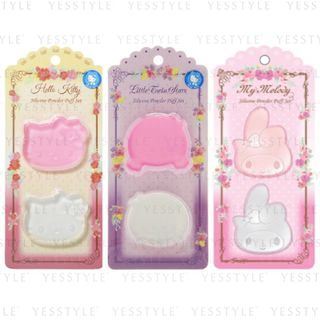 Sanrio - Silicon Powder Puff Set 2 pcs - 3 Types