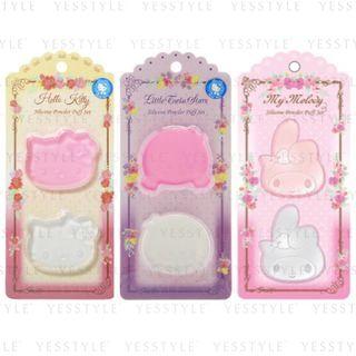 Sanrio - 硅胶粉扑 2 件套装 - 3 款