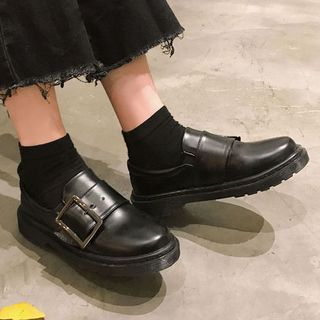 SouthBay Shoes - Buckle Loafers