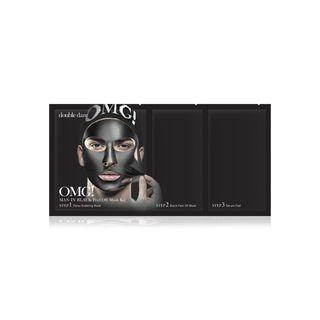 double dare - OMG! Man In Black Peel Off Mask Kit