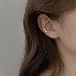 Show Mind - Alloy Layered Cuff Earring