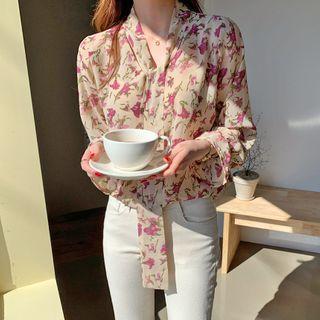 Envy Look - Color-Block Stripe Shirtdress