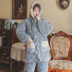 Ciambella - Pajama Set: Quilted Jacket + Pants