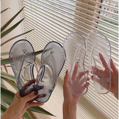 ZORI - Transparent Flip Flops