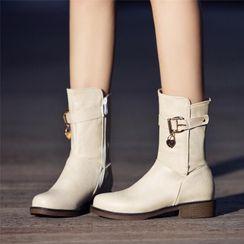 佳美 - 侧拉链短靴