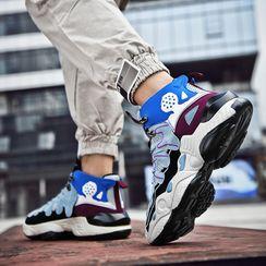 MARTUCCI - Color Panel Platform Sneakers