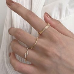 Honne - 925純銀戒指 (多款設計)
