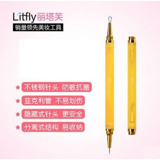 Litfly - Double Ended Blackhead Remover (Gold)