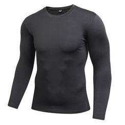 FoxFlair - 運動緊身長袖T恤
