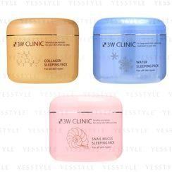 3W Clinic - Sleeping Pack 100ml - 3 Types