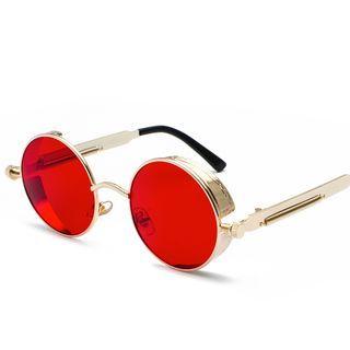 Aisyi - 圆形金属框太阳眼镜