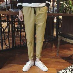 Kieran - Crop Embroidered Sweatpants