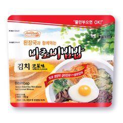 Easybab - Korean Bibimbap Kimchi Flavor with Bean Paste Soup 140g