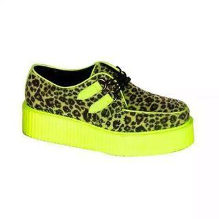 Avanti - Leopard Print Platform Sneakers