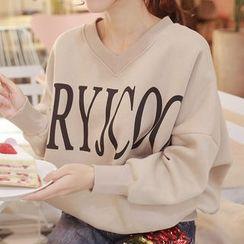 Champi - Letter Long-Sleeve Sweatshirt