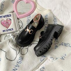 Snowflick - 厚底乐福鞋
