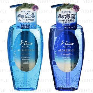 Kose - Je l'aime Amino Algae Rich Shampoo 500ml - 2 Types