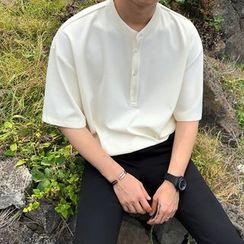 MRCYC - Plain Short-Sleeve Polo Shirt