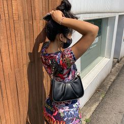 LIPHOP(リップホップ) - Runched Chain Shoulder Bag