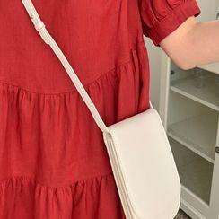 FROMBEGINNING - Flap Mini Crossbody Bag