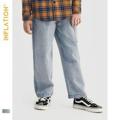 Wolandorf - 男女童直筒牛仔裤