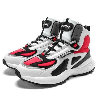 WeWolf - 系带拼接高帮运动鞋