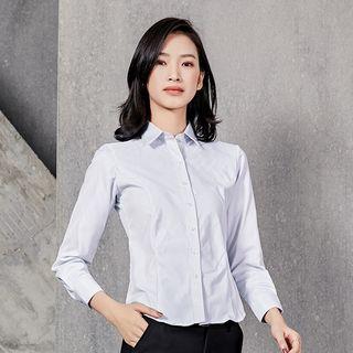 Princess Min - 條紋襯衫 / 修身西褲 / 迷你鉛筆裙 / 領帶